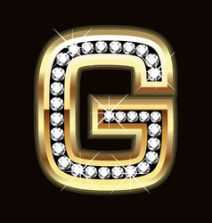 g bling vector image