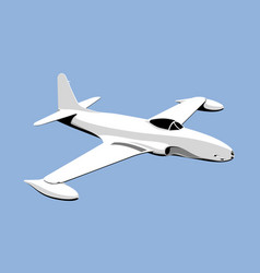 Lockheed f-80 shooting star vector