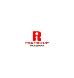 r1 medical logo design vector image
