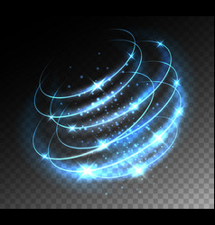 tech light storm effect vector image