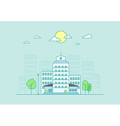 City Life Concept vector image