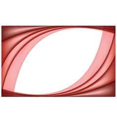 Red abstract paper background vector image vector image