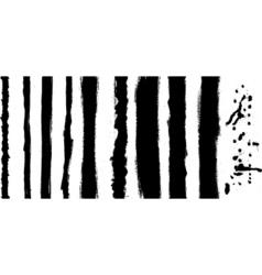 Black stripes vector