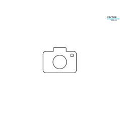 camera icon symbol logo vector image