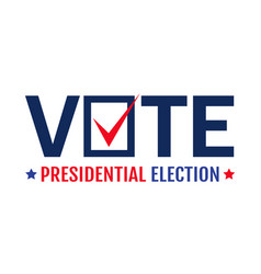election 2020 vote 2020 vector image