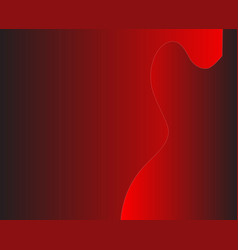 Red guitar background vector