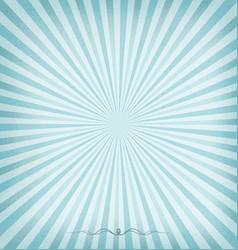 sunburst blue background vector image