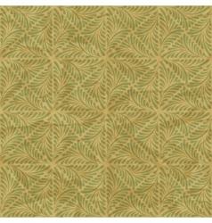Seamless vintage wallpaper floral pattern retro vector image vector image