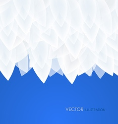 Abstract blue background for design vector image