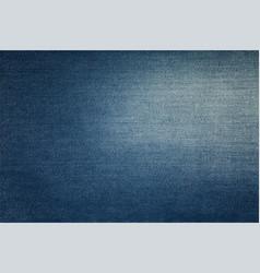 Blue washed jeans denim texture background vector