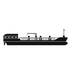 Cargo ship icon vector image