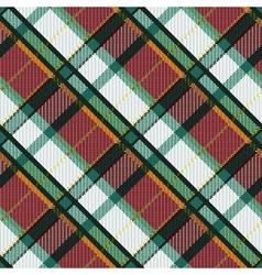 Checkered diagonal tartan seamless texture vector