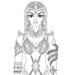 cleopatra vector image