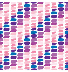 Colorful seamless pattern repeating background vector