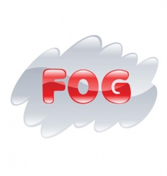 Fog illustration vector