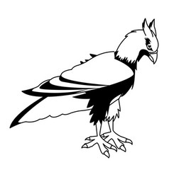 Hippogriff greek mythological creature legendary vector