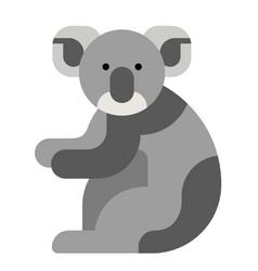 Koala flat vector
