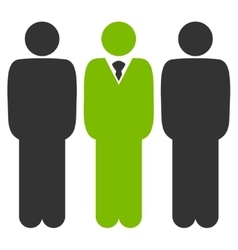 Management icon from Business Bicolor Set vector image