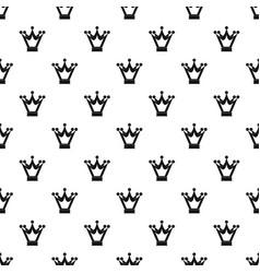 Princess crown pattern vector