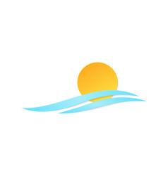 Symbol sun wave vector