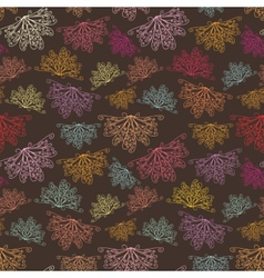 Lace abstract pattern vector image