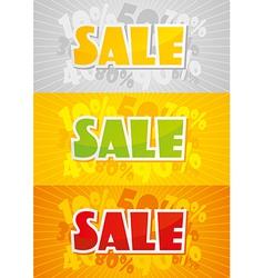 Sale Color vector image vector image