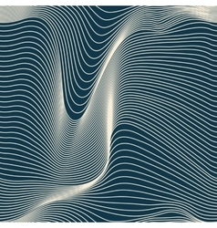 abstract wavy lines seamless vector image