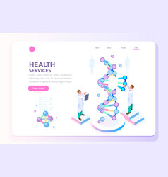 Beauty and health laboratory banner vector