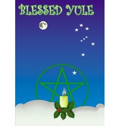 Blessed yule vector