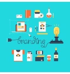 Branding vector