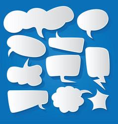 Comic bubble speech balloons speech cartoon 192 vector