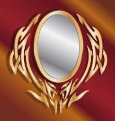 Magic mirror vector