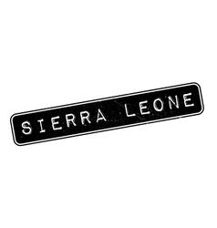 Sierra Leone rubber stamp vector