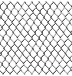 wire fence seamless tile vector image