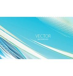 wave halftone line background vector image vector image