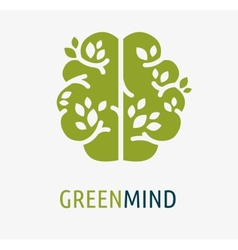 Brain creation idea icon and element vector image
