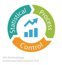 SPC tool icon vector image vector image