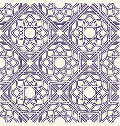 asian linear geometric pattern vector image