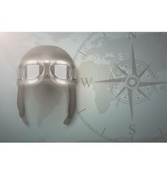 Aviator background vector image