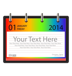 Calender 2014 Background vector