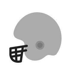 Cricket helmet vector