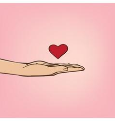 Love confession vector
