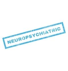 Neuropsychiatric Rubber Stamp vector