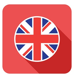 flat britain icon vector image