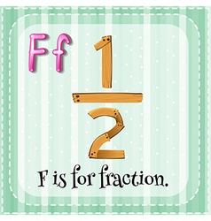 Fraction vector image