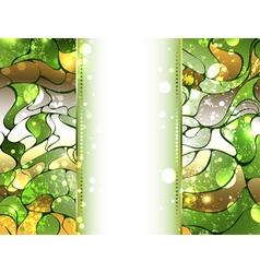 Green precious background vector