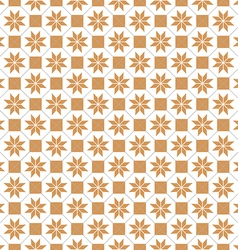Seamless pattern of the octagon vector image