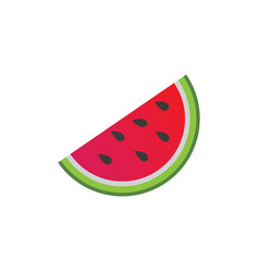 watermelon graphic design template isolated vector image