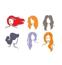 color woman vector image vector image