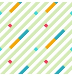 Seamless geometric stripy pattern texture of vector